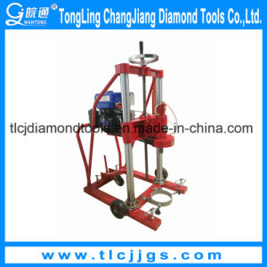 High Power Gasoline Engineering Core Drilling Rig pictures & photos