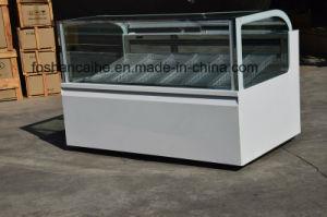 Italian Gelato Ice Cream Display Freezers/ Popsicle Showcase Freezer (CE) pictures & photos