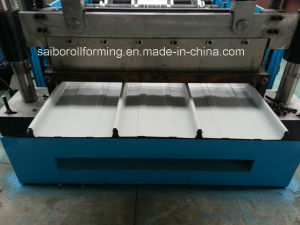Yx41-320-960 Roofing Tile Panel Roll Forming Machine pictures & photos