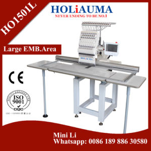 Quality One Head 360*1200mm Embroidery Machine for Cap T-Shirt Embroidery pictures & photos