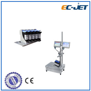 Low-Cost Barcode and Expiry Date Printing Continuous Inkjet Printer (ECH700) pictures & photos