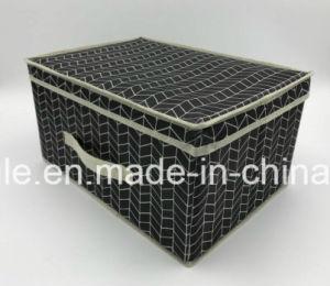 New Pattern Non Woven Storage Box Folding Clothes Storage Box Living Box