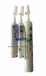 Pharmaceutical Packaging Ointment Aluminum Plastic Laminated Tip Nozzle Tube pictures & photos