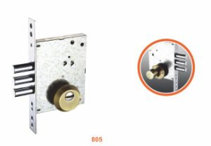 Iron/Zinc Safe Door Lockbody/Security Door Lock (805) pictures & photos