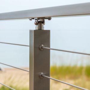 Stainless Steel Square Post Cable Baluster pictures & photos
