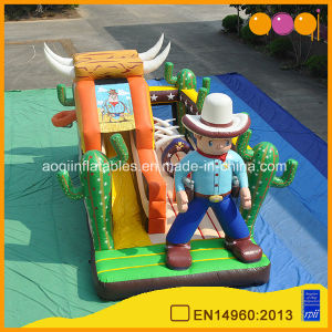 Cowboy Slide Inflatalble Amusement Park (AQ01483) pictures & photos