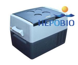 18L DC Motor Compressor Medical Storage Car Refrigerator China Hot Sale pictures & photos