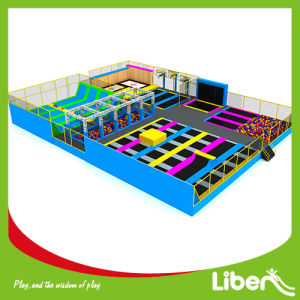Customized Design Liben Indoor Trampoline Park with Dodge Ball pictures & photos