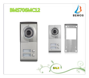 """Wired 7"""" Color TFT LCD Touch Button Design Video Intercom Doorphone pictures & photos"""
