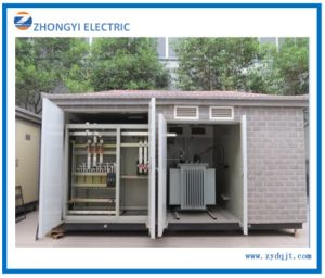 Factory Box-Type Power Distribution Transformer House Power Substation pictures & photos