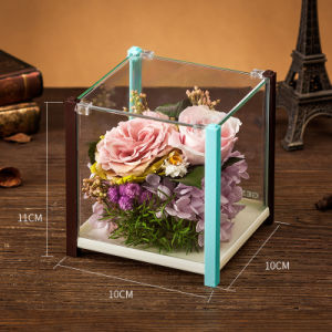 100% Natural Real Rose Flower Gift Box for Valentine Birthday Gift pictures & photos