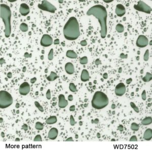 Kingtop 1m Width Water Drop Pattern Aqua Print Film pictures & photos