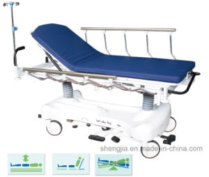 Sjm004-C Luxuruious Hydraulic Rise-and-Fall Stretcher Cart
