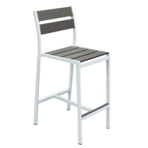 Stackable Aluminium Plastic Wood Outdoor Restaurant Furniture Bar Chair Table Set pictures & photos