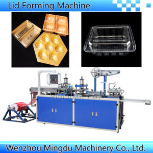 Automatic Forming&Cutting Machine for Plastic Buscuit Tray Lid Box Plate Case pictures & photos