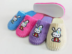 Cute Ladies Indoor Nice Soft Slipper for Winter pictures & photos
