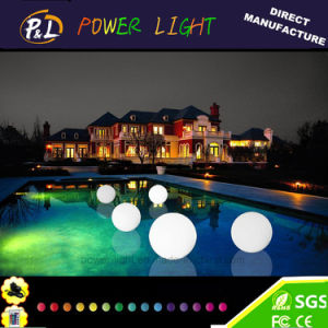 Rechargeable Illuminated Pool Ball Plastic LED Sphere pictures & photos