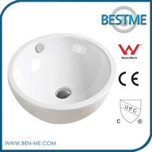 Competitive Round Shape Bathroom Art Basin for Sale pictures & photos