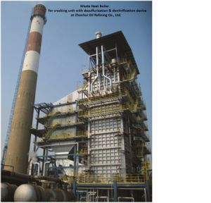 Waste Heat Boiler with Waste Heat Recovery Device pictures & photos