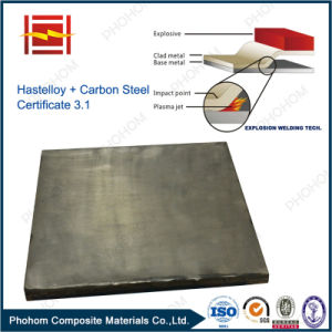 Hastelloy C276 Steel Explosive Welding Clad Plate pictures & photos