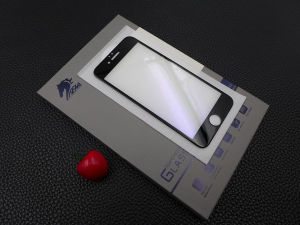 Ultra High Viscosity 3D Toughened Glass Screen Cover for iPhone6