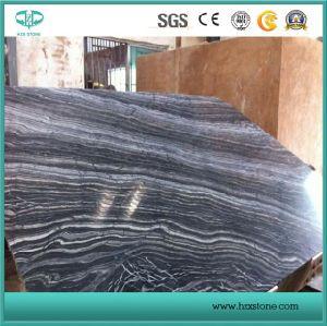 Black Wood Marble/Black Tree/Kenya Black/Black Marble/Wood Verin for Slab/Tile/Countertop/Vanity Top/Tabletop pictures & photos