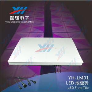 Wedding DJ Stage Bar Party Entertainers T Station Lighting LED RGB Color Tiles Small Power Saving and Safety Waterproof IP68 pictures & photos