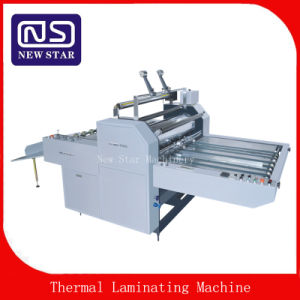 Semi-Auto Laminator for BOPP Thermal Film pictures & photos