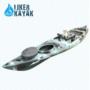 Plastic Paddle Kayak for Single Person Fishing Use pictures & photos