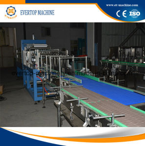 Semi-Automatic Beverage Bottlespe Film Packaging Machine pictures & photos