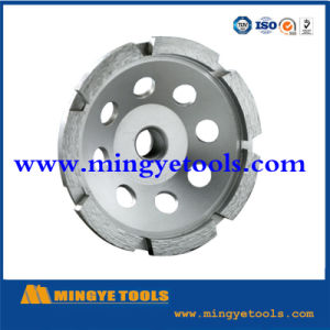 PCD Cup Wheel Abrasive Wheel for Floor Removal pictures & photos
