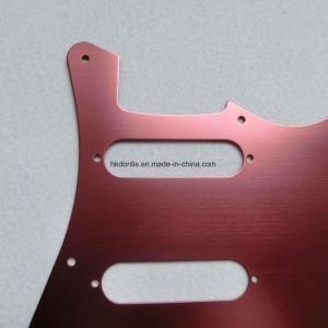 Guitar Parts Aluminum SSS Electric Guitar Pickguard for St Guitar pictures & photos