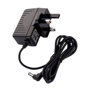 CCTV Camera 12V 1A 2.1mm 2.5mm 3.5mm DC Plug UK Power Supply Adapter pictures & photos