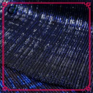 Dark Blue Cheap Wholesale Garment Lace Fabric pictures & photos
