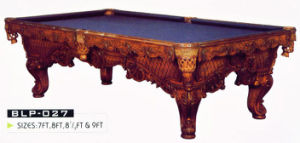 Slate Billiard Table (DS-12) pictures & photos