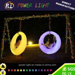 Indoor Outdoor Luxury Adults Swing Set Luminous Romantic Sex LED Swing pictures & photos