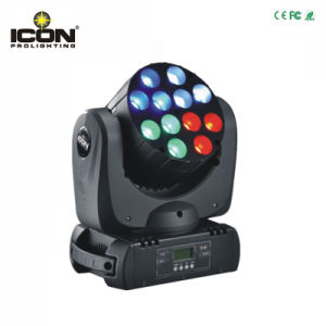 12X10W RGBW 4in1 Beam LED Moving Head Stage Light pictures & photos