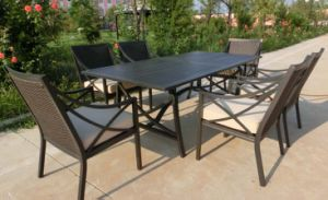 Hand Paint Style Dining Set pictures & photos