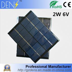 6V 2W Epoxy Solar Panel Polycrystalline Solar Cell Photovoltaic Panel for DIY Home Solar Sistem Mini Sun Power Energy Module pictures & photos