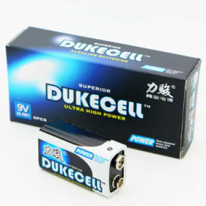 6lr61 Dry Cell Battery 1/S Mercury-Free Batteries pictures & photos