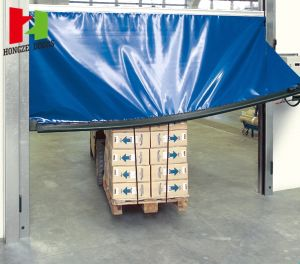 Fast PVC Fabric Self-Repairing High Speed Roll up Roller Shutter Warehouse Door (Hz-FC45) pictures & photos
