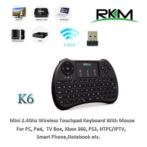 2.4G Wireless Keyboard with Toupad Mouse Combo pictures & photos