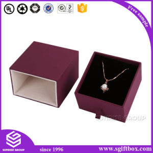 Paper Leather Wood Gift Packaging High Quality Jewelry Box pictures & photos