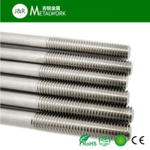 ANSI ASTM Stainless Steel Double End Stud Bolt (B8 B8t B8m) pictures & photos