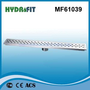 Swimming Pool Linear Stainless Steel Floor Drain Cover (MF61039) pictures & photos