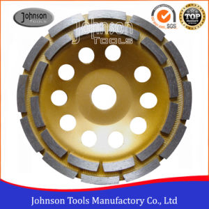 Od150mm Diamond Cup Wheel with Double Row for Stone pictures & photos