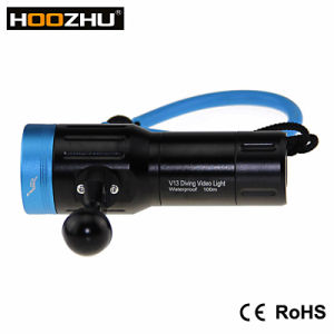 Hot Selling! ! CREE Xm L2 LED with Five Color Max 2600 Lm Waterproof 100m Diving Torch for Video pictures & photos