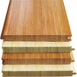 A Grade Horizontal Carbonized Solid Bamboo Flooring pictures & photos