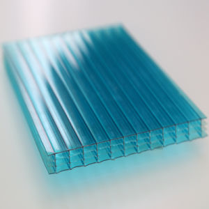 Four Wall Hollow Sheet, Clear Polycarbonate Hollow Sheet for Roofing pictures & photos