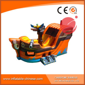 Pirate Ship Inflatable Boat for Amusement Park with Slide (T6-607) pictures & photos